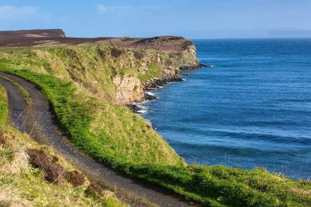 the cliffs near dunnet head