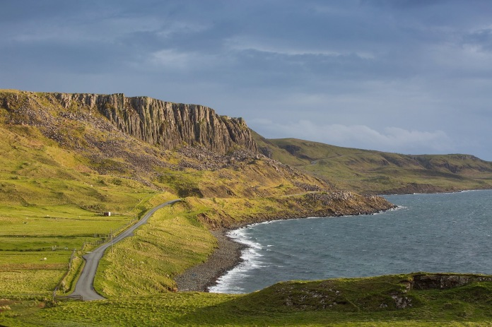 The Northern edge of the Totternish Range on skye