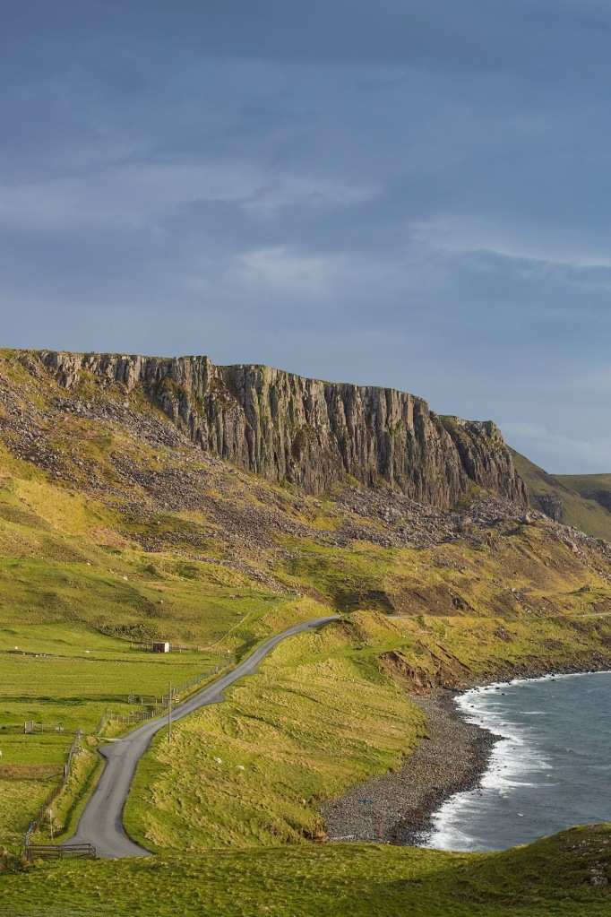 The Northern edge of the Totternish Range on skye