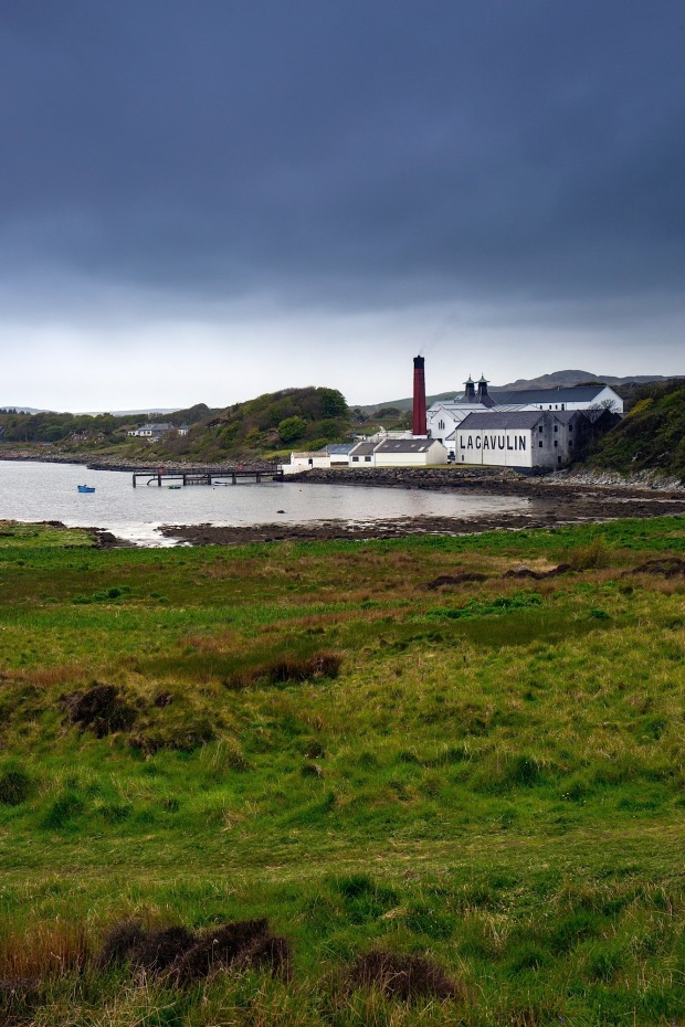 Lagavulin Bay and Distillery