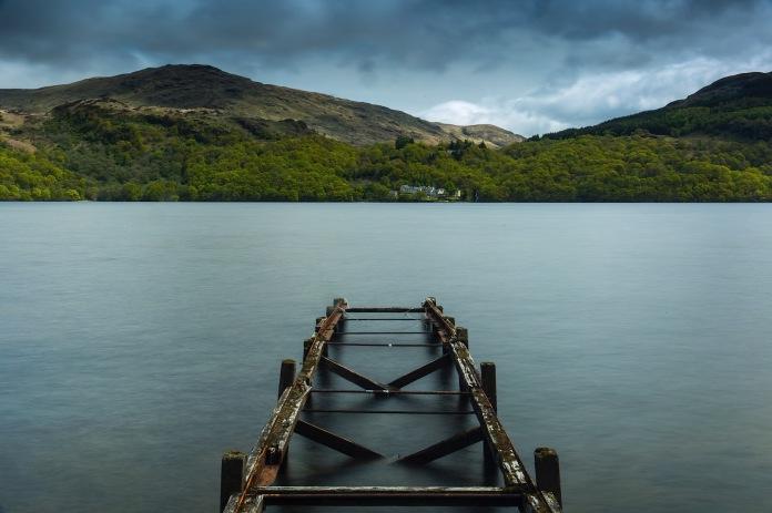 The banks of Loch Lomond