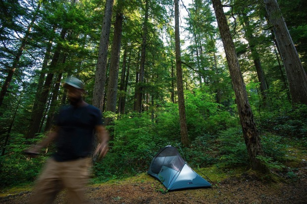 Camping in Gifford Pinchot National Forest