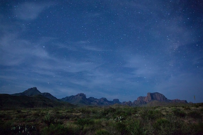 Starrs over the Chisos