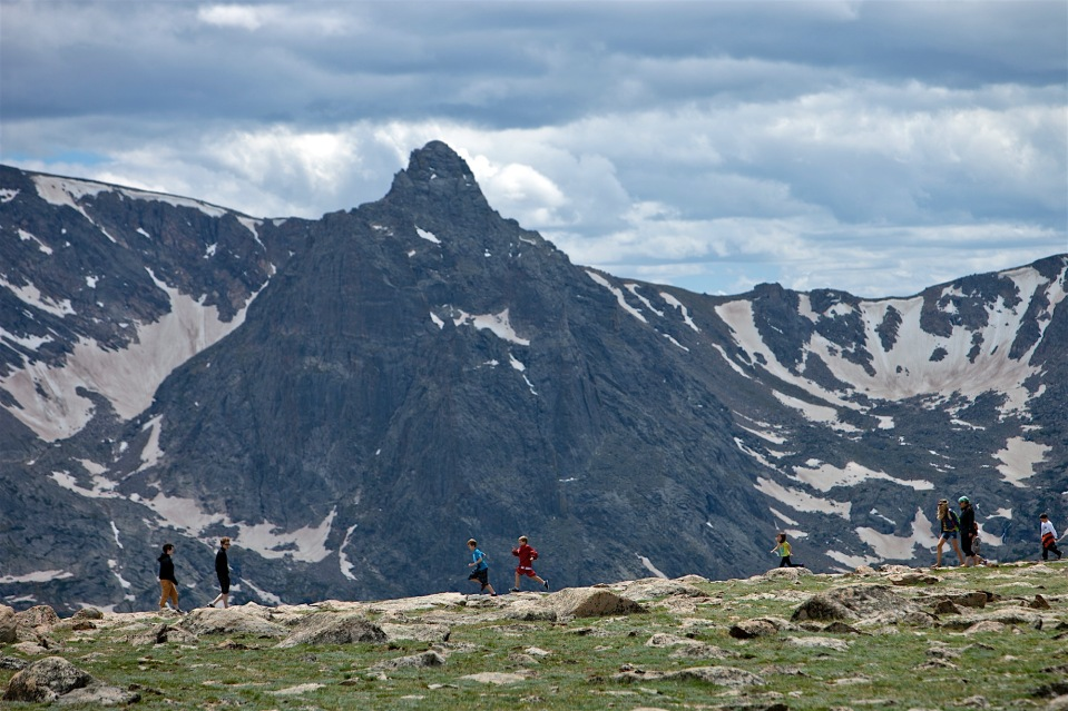 hikers, Rocky Mountain National Park, CO