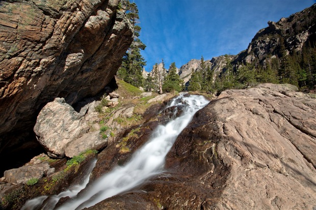 waterfall near emerad laek, Rocky Mountain National Park, CO