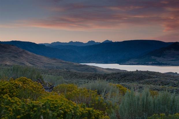 Sunrise over the Winds at Boulder Lake